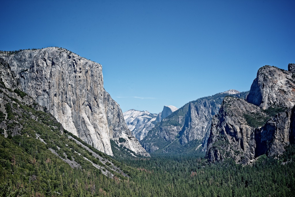 Ouest Américain Yosemite National Park