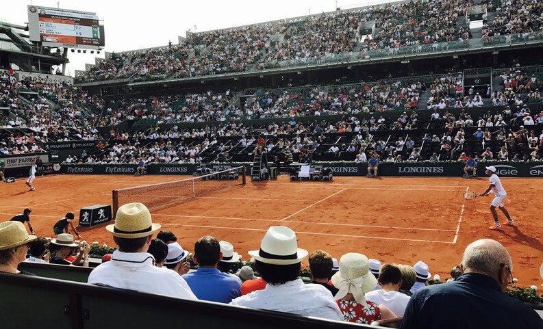 Roland Garros - Court Suzanne Lenglen