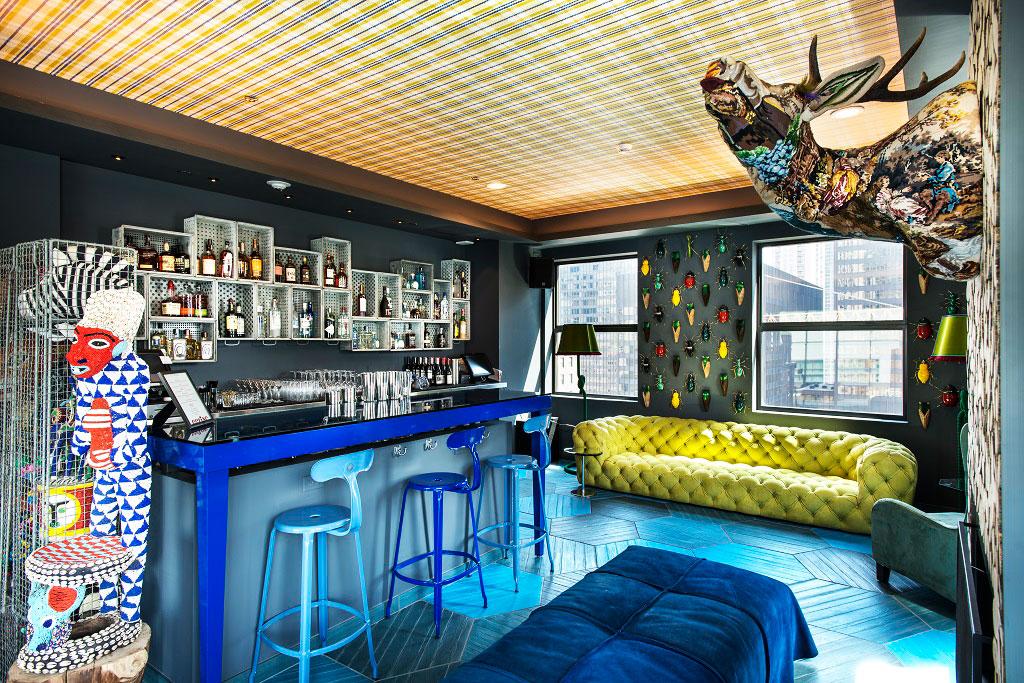 Virgin Hotel Chicago Bar Cerise Club