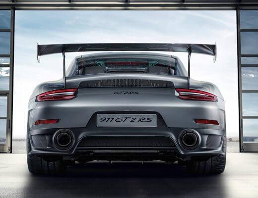 Porsche 911 GT2 RS arrière