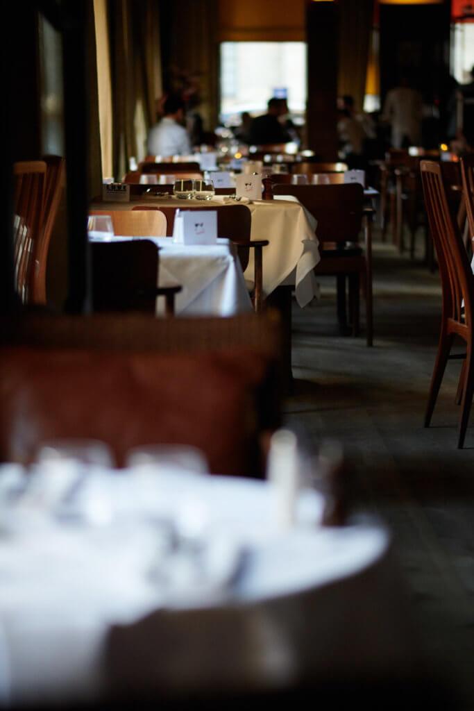 Salle de restaurant du Fumoir