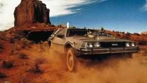 Retour vers le futur III à Monument Valley