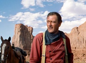 John Wayne à Monument Valley